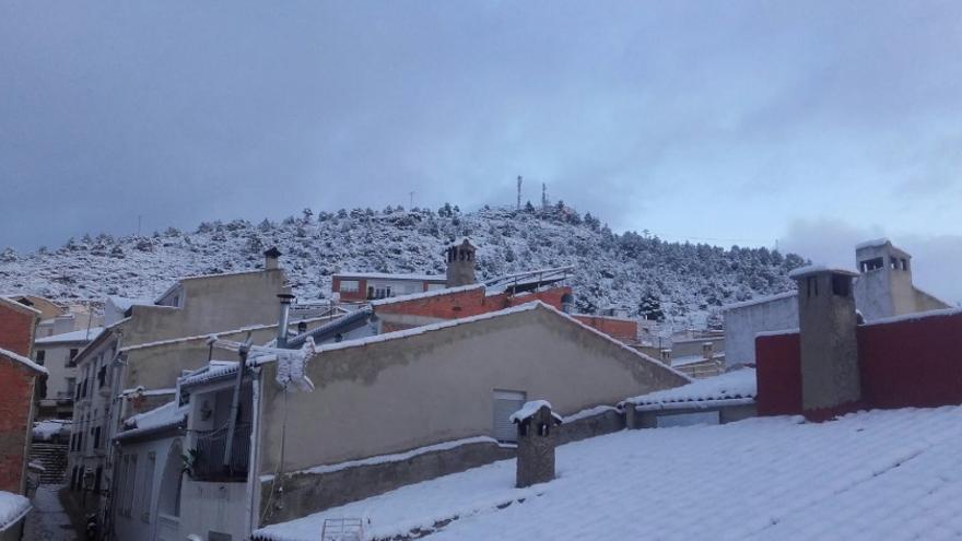 Yeste  (Albacete), esta mañana