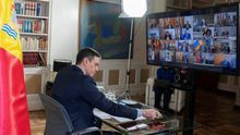 Videoconferencia de presidentes autonómicos con Pedro Sánchez