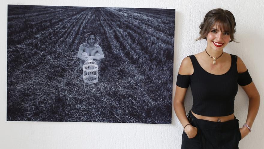 La fotógrafa Nadia Martín.