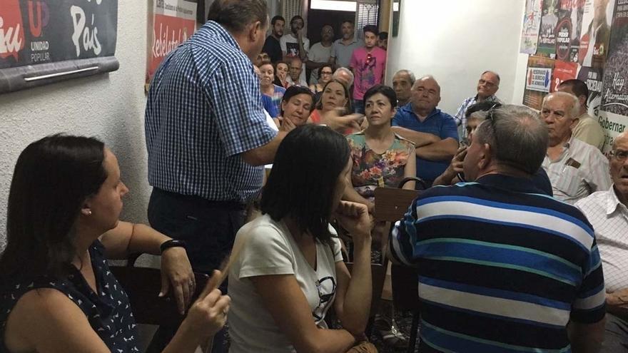 La asamblea de IU autoriza la negociación de una moción de censura contra la alcaldesa de Puertollano