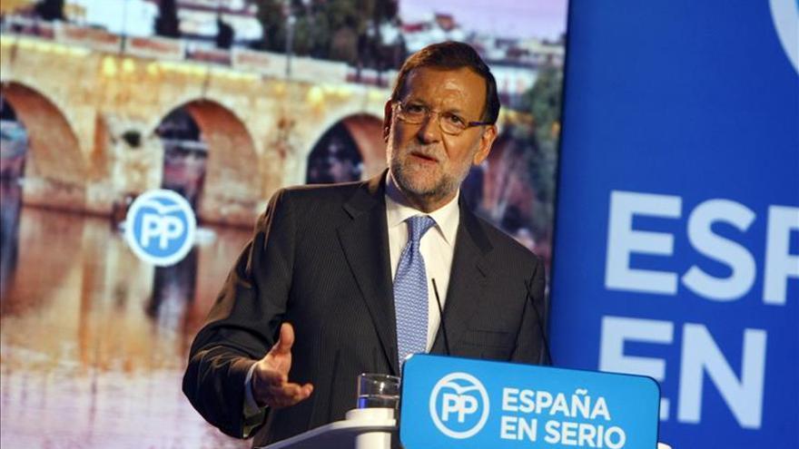 Rajoy visitará un día Cataluña en la campaña de las generales