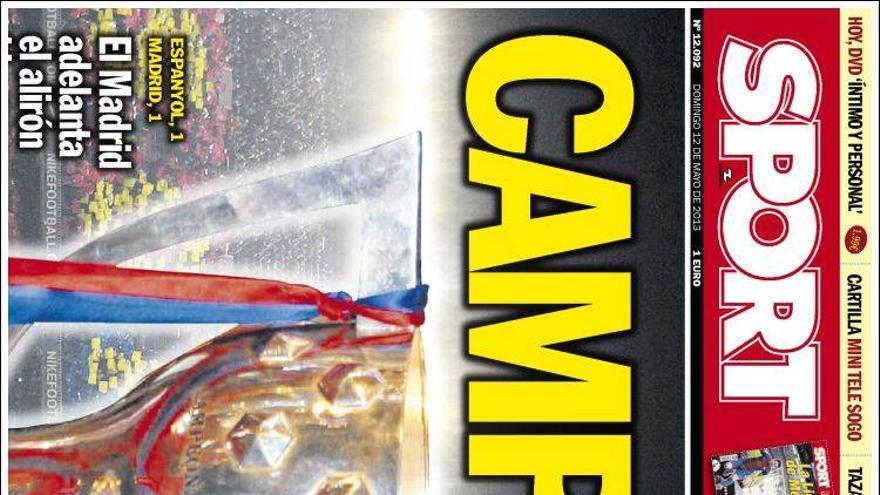 Las portadas del día (12/05/2013) #14