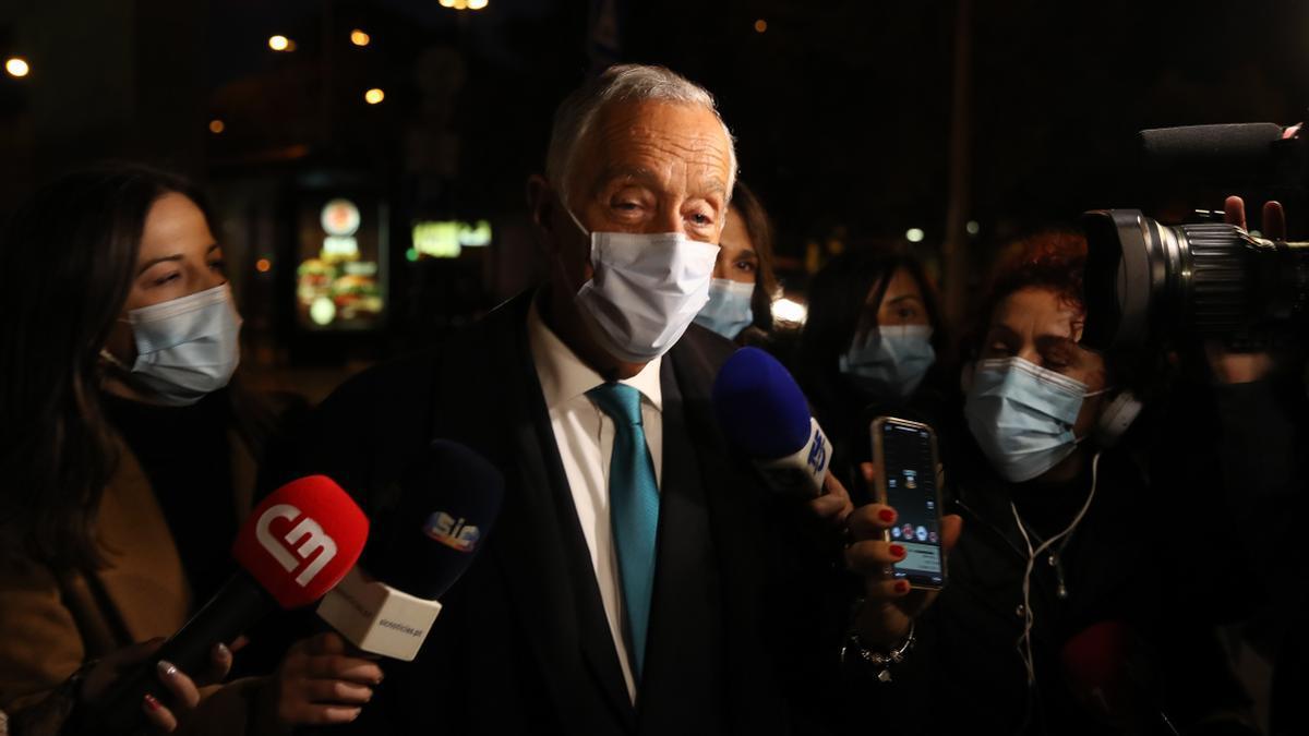El presidente de Portugal, Marcelo Rebelo de Sousa. EFE/EPA/MANUEL DE ALMEIDA/Archivo