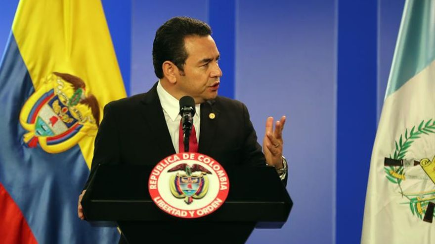 Jimmy Morales llama a la unidad y a votar en el referendo sobre la disputa con Belice