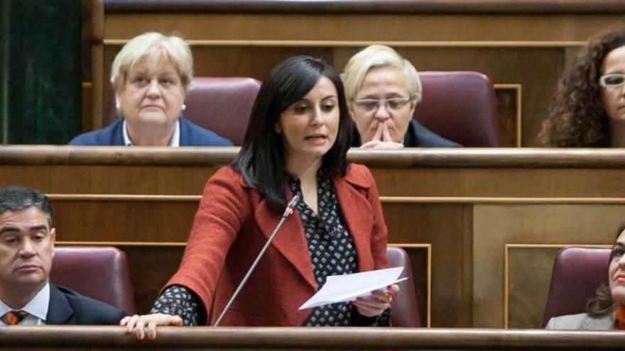 Isabel Rodríguez en el Congreso de los Diputados