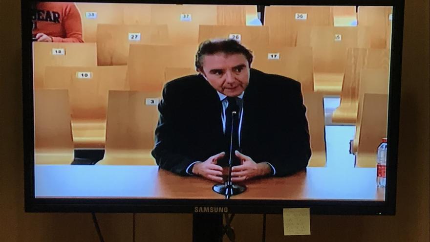 Ernesto Moreno, exdirector Económico del Palau de Les Arts, en su declaración durante el juicio.