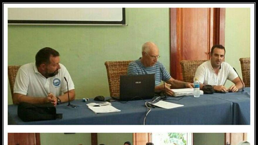 Presentación del curso de Patrón Portuario en Tazacorte.