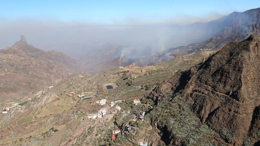 Incendio en las cumbres de Gran Canaria