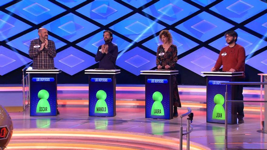 El debut de Joan y Laura como suplentes de 'Los Dispersos'