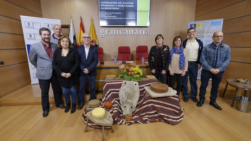 Presentación del plan formativo del Cabildo insular en el área de Soberanía Alimentaria en Las Palmas de Gran Canaria.