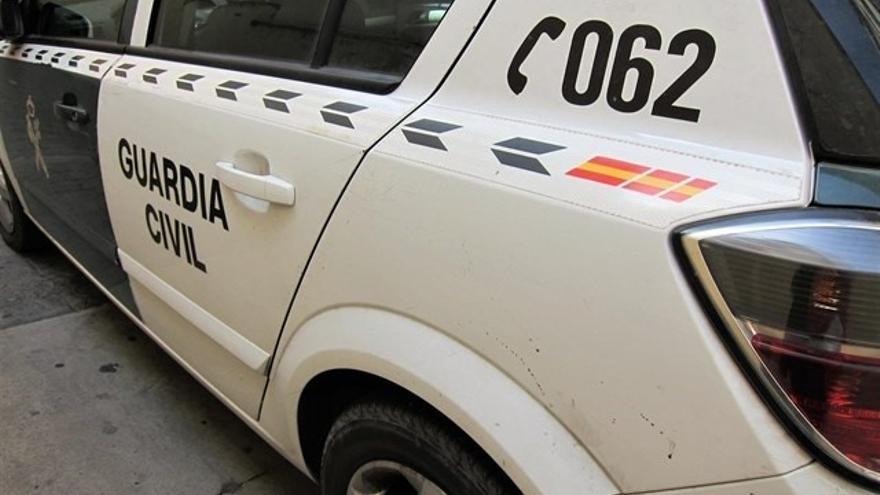 Vehículo oficial de la Guardia Civil, en una imagen de archivo