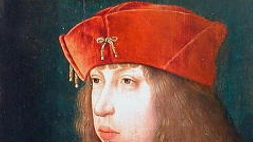 Retrato de Felipe I de Castilla, conocido como Felipe, el hermoso