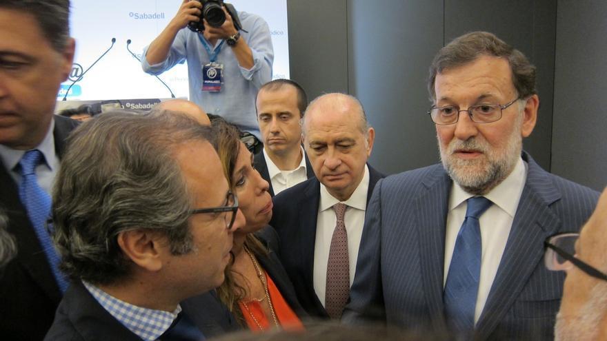 """Rajoy critica la ocupación de propiedades por """"puras razones políticas"""""""