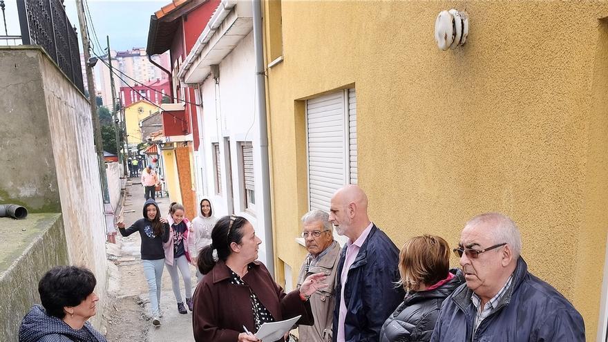 Comienza la mejora del vial de la calle Repuente, proyecto seleccionado en el presupuesto participativo