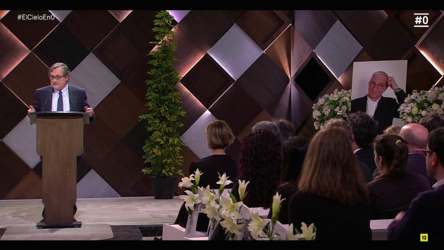 """Marhuenda, en el funeral de Sardà: """"Eras el progre perfecto, simpático, inteligente, rico y con éxito con las mujeres"""""""