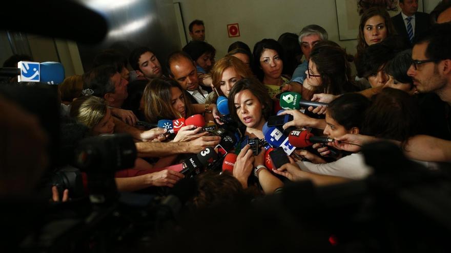"""Santamaría dice al PNV que el PP tiene """"sensibilidad foral"""" y si hay voluntad """"se puede hablar de muchas cosas"""""""