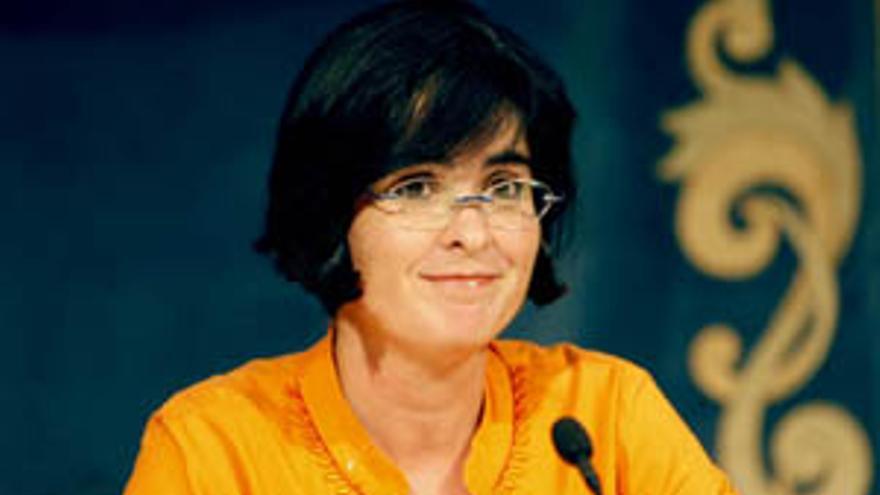 La delegada del Gobierno en Canarias, Carolinas Darias.