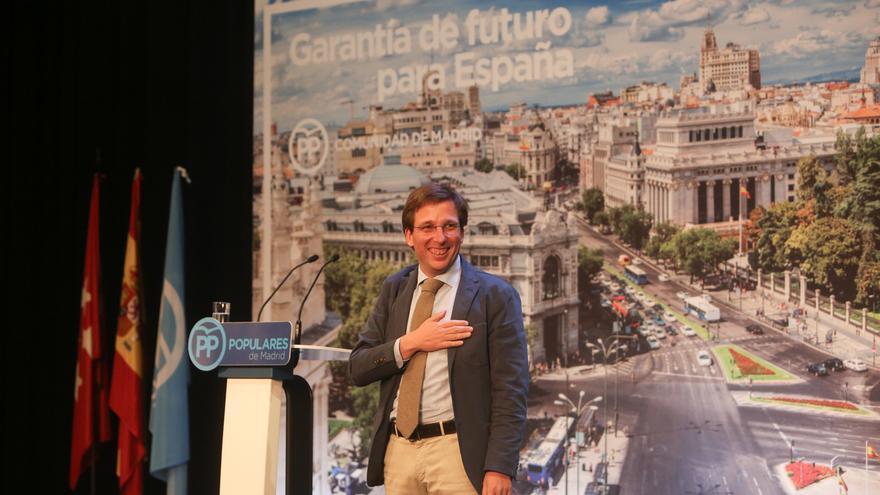 """Almeida señala que la ilusión regresa al PP y se reivindica como alcalde con convicciones que hará """"más libre"""" a Madrid"""