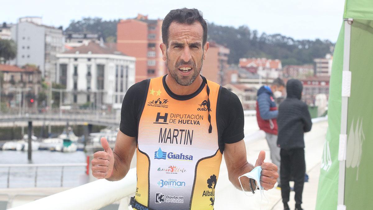 Emilio Martín, del Montilla-Córdoba Triatlón, campeón de España de duatlón