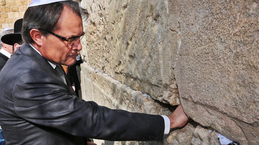 La comunidad palestina de Cataluña cuestiona a Mas por poner a Israel como ejemplo