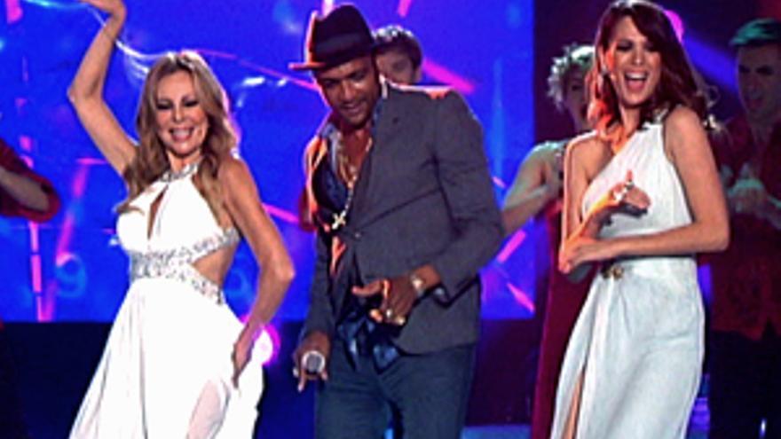 'Sábado sensacional' reanima la noche de La 1 y el refrito 'Deluxe' hunde la noche de Tele 5