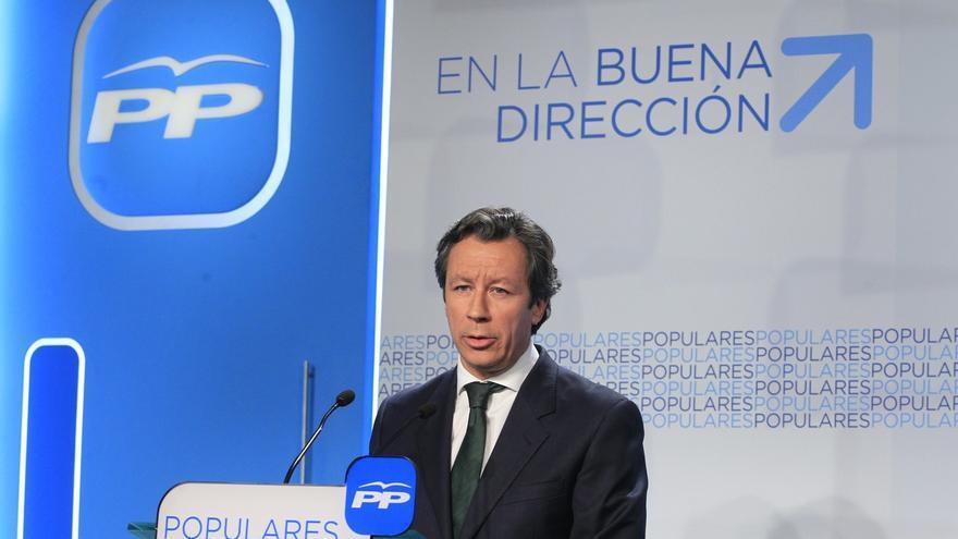 """Floriano defiende que todas las imputaciones """"no son iguales"""" y que """"no conviene"""" generalizar con respecto a Imbroda"""