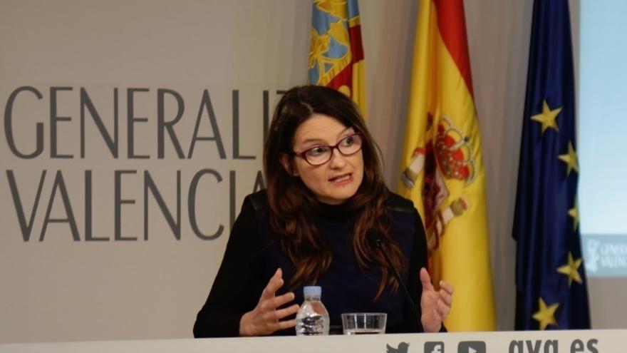 """Oltra niega que la victoria de Sánchez debilite a Puig: """"El presidente de la Generalitat tiene el apoyo del Botànic"""""""