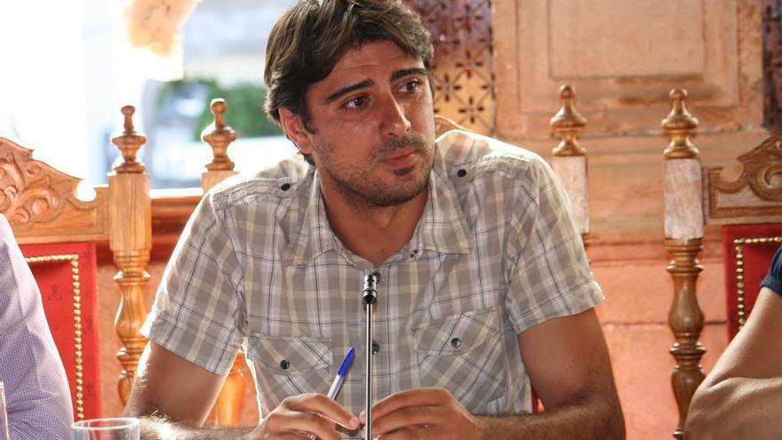 Manuel Abrante, concejal de Infraestructuras, Obras y Servicios.