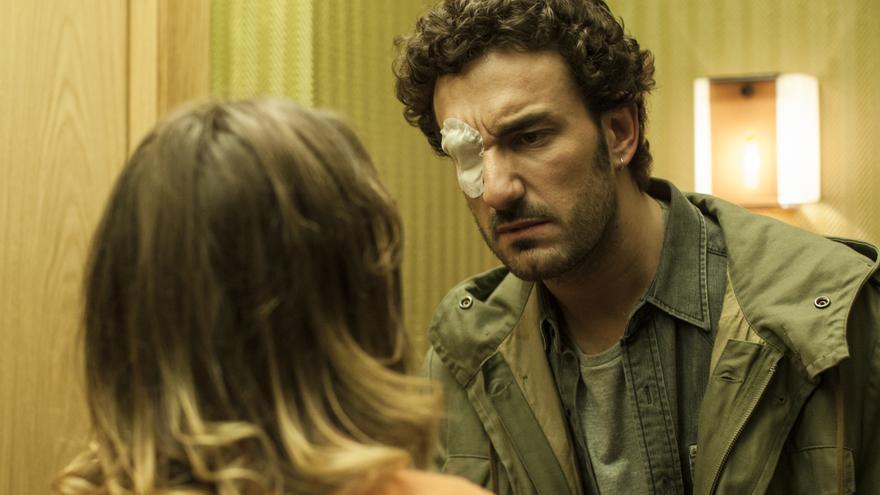 Fotograma de la película 'El rey tuerto', de Marc Crehuet