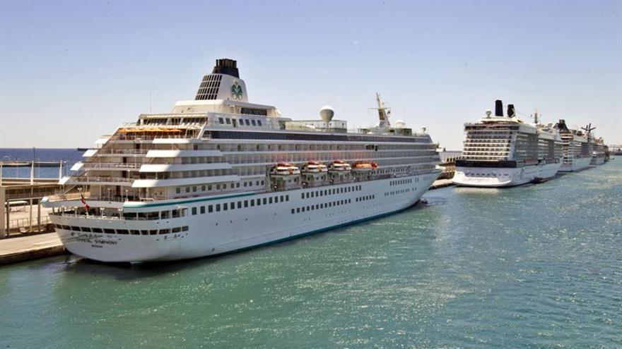 España supera los 8,4 millones de cruceristas en 2015, un 9,4 % más
