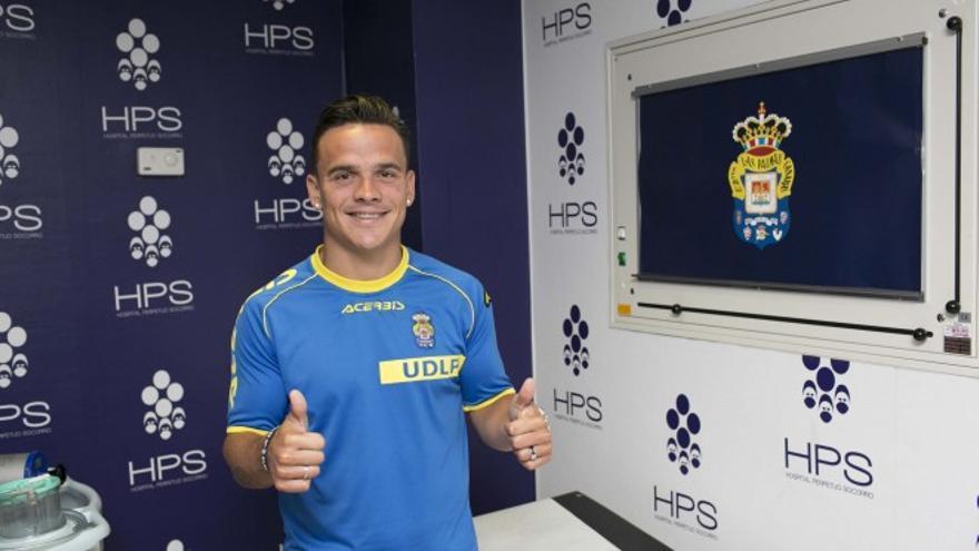 El jugador Roque Mesa pasa el reconocimiento médico con Las Palmas