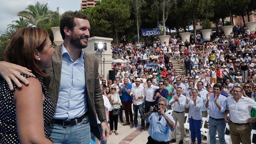 """Casado afea que Puig y Oltra """"no alcen la voz cuando se priva a la Comunitat de 730 millones por un cálculo electoral"""""""