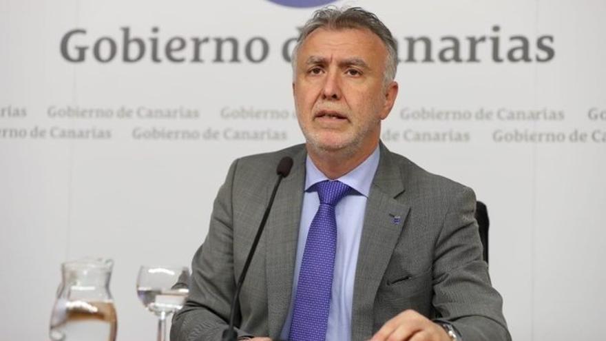 Ángel Víctor Torres, presidente del Gobierno de Canarias