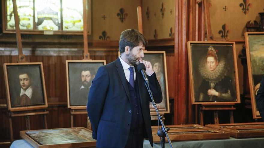 Italia recupera los cuadros robados en Verona, algunos de Tintoretto y de Rubens