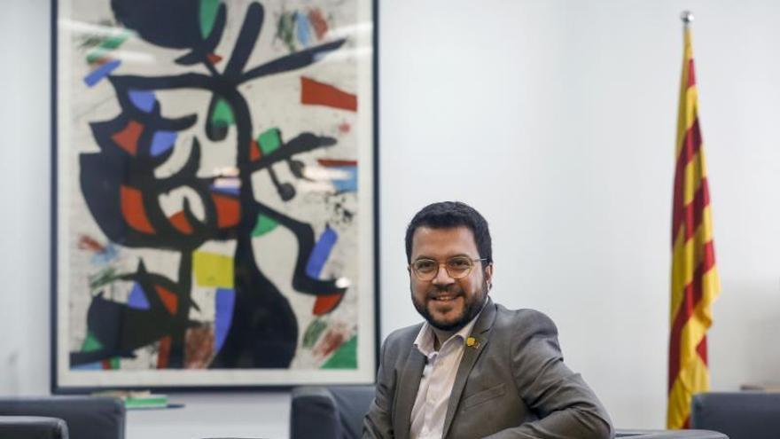 Aragonès ve difícil la continuidad de la legislatura sin presupuesto para 2020
