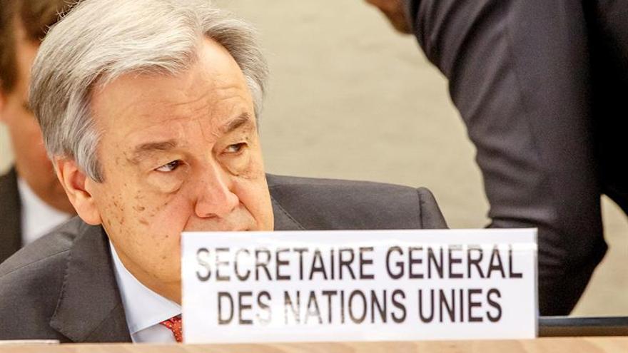 Guterres declara su compromiso contra antisemitismo en el Congreso Mundial Judío