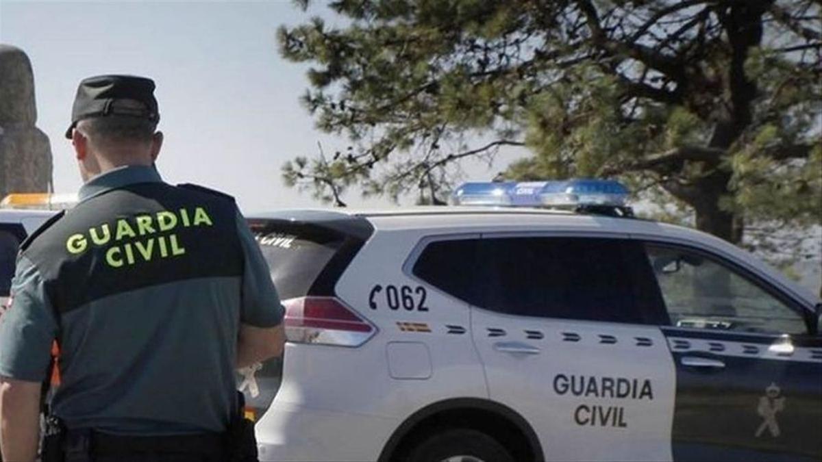 Imatge d'arxiu d'un guàrdia civil.