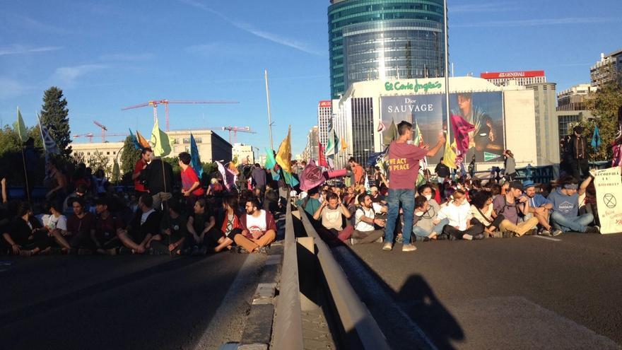 La intención de los manifestantes es acampar frente al Ministerio de Transición Ecológica.