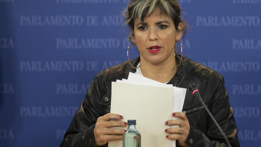 """Teresa Rodríguez no """"renuncia"""" a Adelante Andalucía ni cierra la puerta a presentarse a las elecciones andaluzas"""
