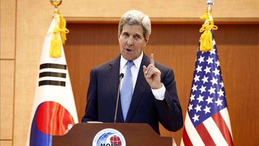 """Kerry afirma que la alianza entre Seúl y Washington """"es más fuerte que nunca"""""""
