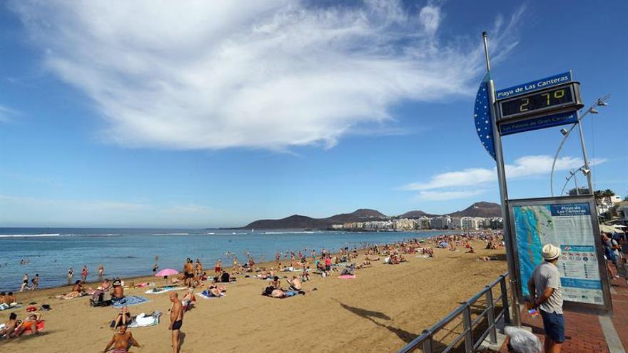 Playa de Las Canteras, Las Palmas de Gran Canaria.