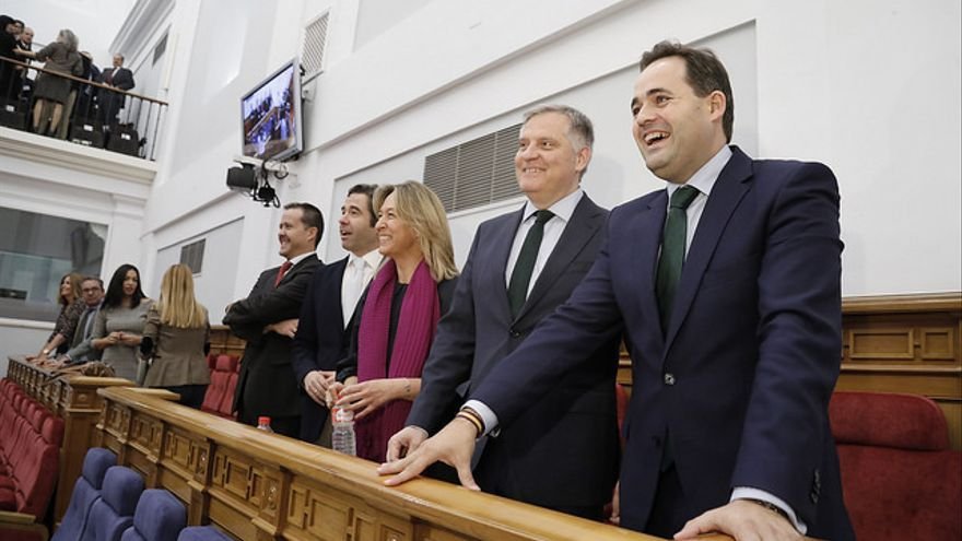 Diputados del PP en las Cortes de Castilla-La Mancha