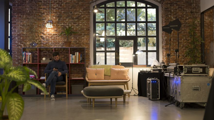 Imagen del nuevo coworking que Spaces ha abierto en Madrid.