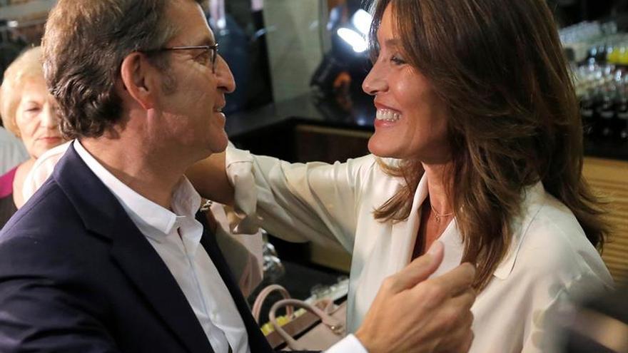 Núñez Feijóo y Eva Cárdenas esperan para hoy el nacimiento de su hijo