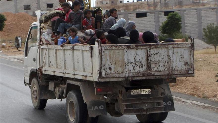 Mueren 49 personas, entre ellas 31 yihadistas, en bombardeos del régimen sirio