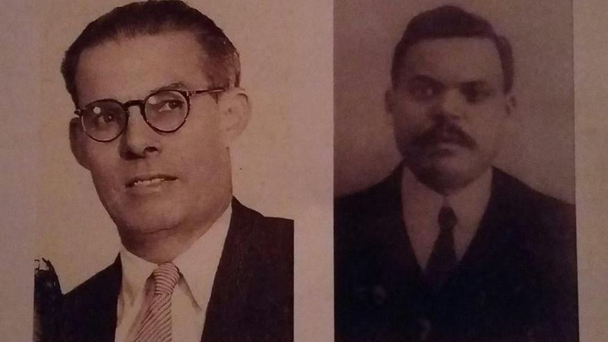 Antonio Rodríguez Martín y Antonio Hernández Capote