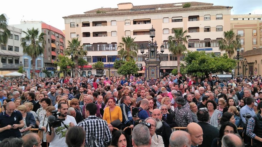 Miles de personas se concentran en Algeciras (Cádiz) pidiendo más compromiso en la lucha contra el narcotráfico