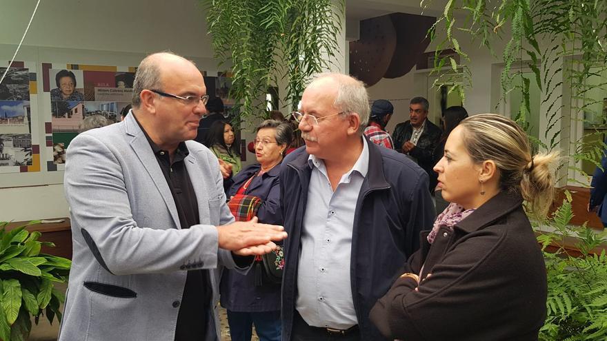 Anselmo Pestana y Susana Machín.