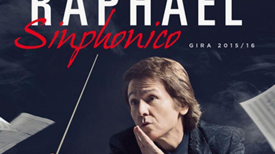 Imagen promocional del concierto de Raphael