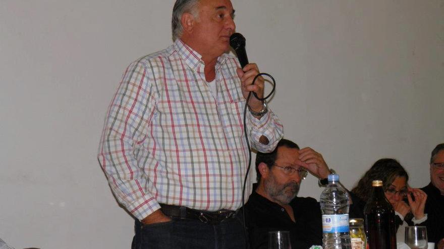 El alcalde de Alginet, José Vicente Alemany